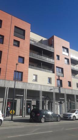 façade immeuble, Toulouse