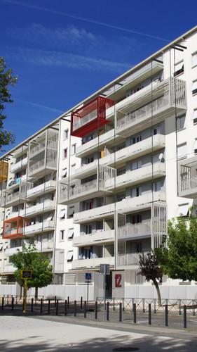 facade sud immeuble social Hoche TMH