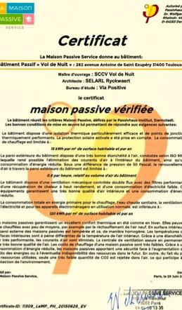 certificat passivhaus
