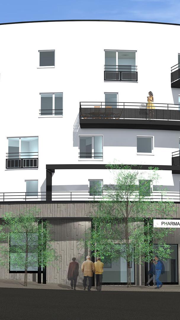 Immeuble collectif d'habitations
