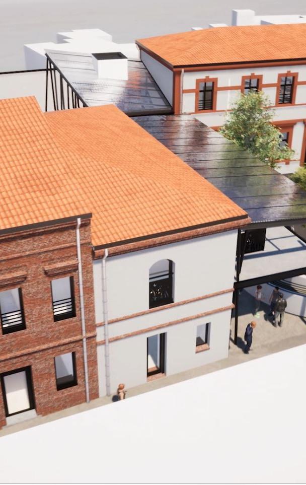 Traitement des façades