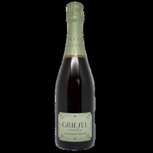 2017 Chardonnay Brut Nature Prestige Sekt Griesel Bergsträßer Sekt