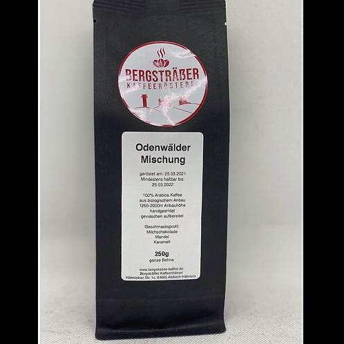 Odenwälder Mischung Bergsträßer Kaffeerösterei 250g