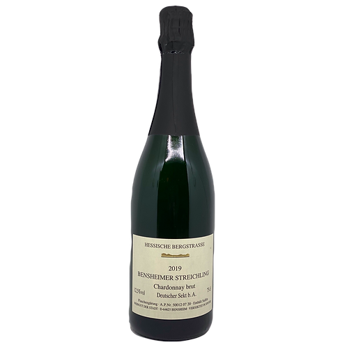 2019 Chardonnay Sekt  Brut Weingut Stadt Bensheim Bergsträßer Sekt