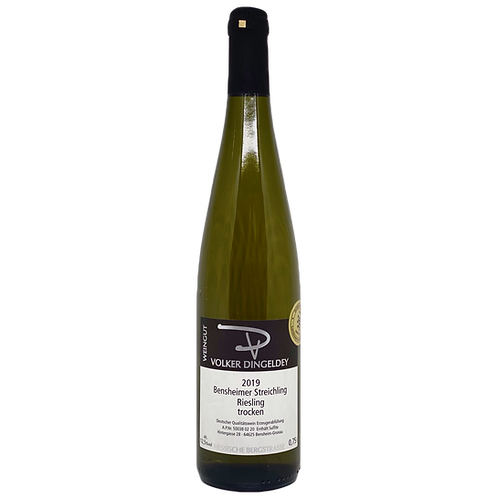 Hessische Bergstraße 2019 Riesling trocken Volker Dingeldey Bergsträßer Wein