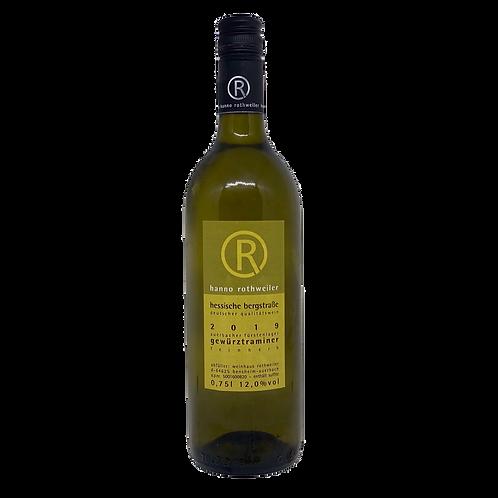 Hessische Bergstraße 2019 Gewürztraminer Weingut Rothweiler Bergsträßer Wein