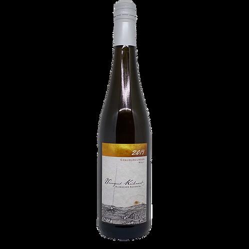 Hessische Bergstraße 2019 Grauburgunder Willi Weingut Kühnert Bergsträßer Wein