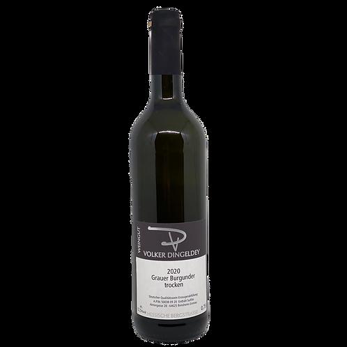 Hessische Bergstraße 2020 Grauer Burgunder Volker Dingeldey Bergsträßer Wein