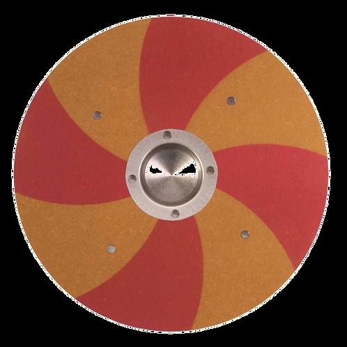 Vah Wikingerschild Grimwald rot- gelb