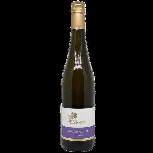Hessische Bergstraße 2020 Grauburgunder trocken Weingut Mohr Bergsträßer Wein