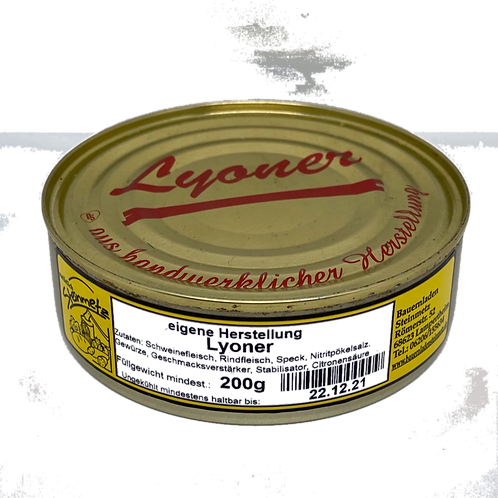 Hausmacher Lyoner 200g Steinmetz