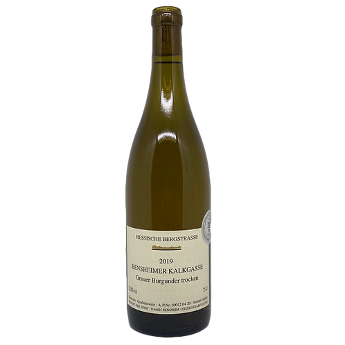 2019 Grauburgunder Weingut der Stadt Bensheim Bergsträßer Wein