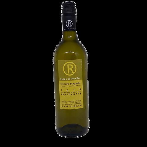 Hessische Bergstraße 2019 Chardonnay trocken Hanno Rothweiler Bergsträßer Wein