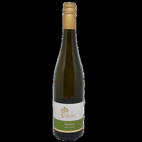 Hessische Bergstraße 2020 Riesling trocken Weingut Mohr Bergsträßer Wein