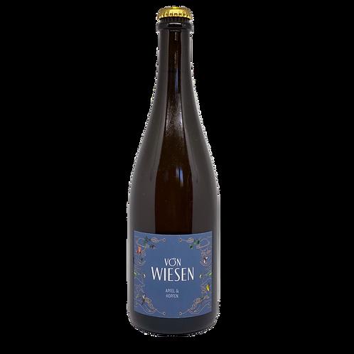 """Apfel & Hopfen """"von Wiesen"""" (Griesel) Bergsträßer Obstschaumwein"""