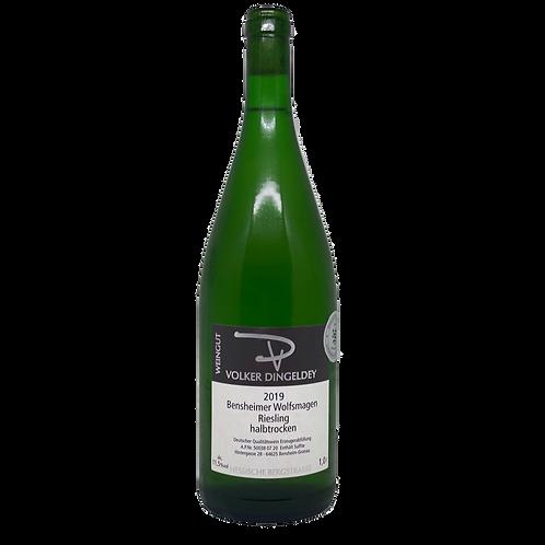 2019 Riesling halbtrocken 1L Volker Dingeldey Bergsträßer Wein