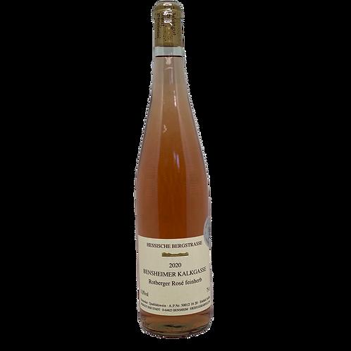 2020 Kalkgasse Rosé Feinherb Weingut Stadt Bensheim Bergsträßer Wein