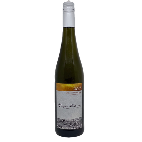 Hessische Bergstraße 2019 Weisser Riesling Alter Wingert Kühnert Wein