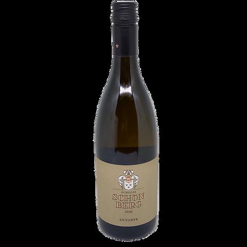 Hessische Bergstraße 2018 Silvaner trocken  Schloss Schönberg Bergsträßer Wein