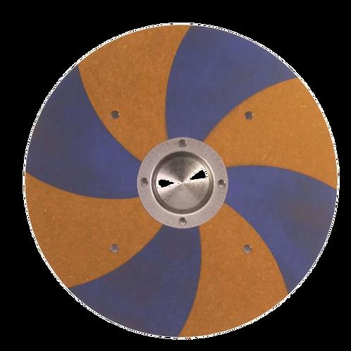 Vah Wikingerschild Grimwald blau- gelb