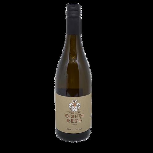 Hessische Bergstraße 2019 Chardonnay trocken Schloss Schönberg Bergsträßer Wein