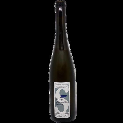 Hessische Bergstraße 2018 Chardonnay lieblich Steinmüller Bergsträßer Wein