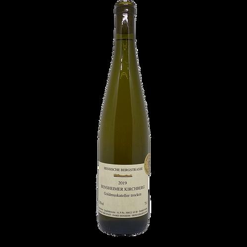 2018 Goldmuskateller Weingut der Stadt Bensheim Bergsträßer Wein