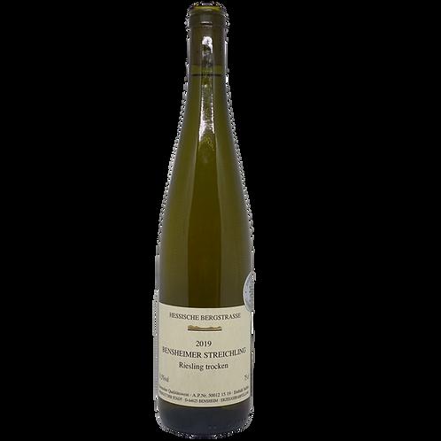 2019 Riesling trocken Weingut der Stadt Bensheim Bergsträßer Wein