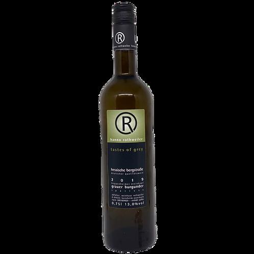 2019 Grauburgunder Spätlese Taste of Gray Hanno Rothweiler Bergsträßer Wein