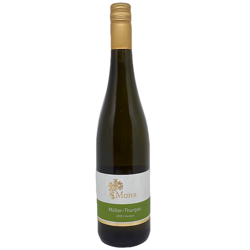Hessische Bergstraße 2020 Müller-Thurgau trocken Weingut Mohr Bergsträßer Wein