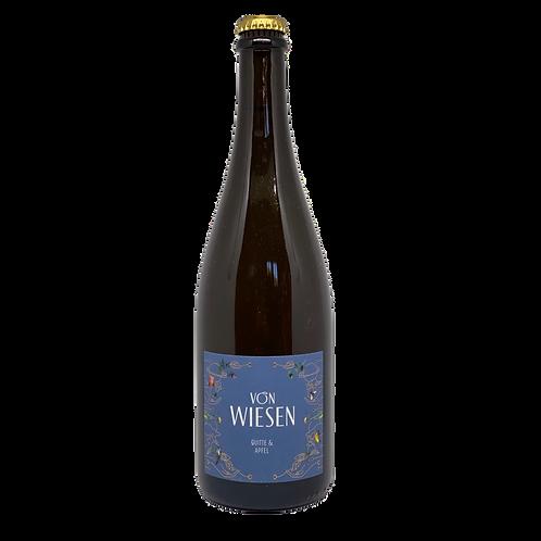 """Apfel & Quitte """"von Wiesen"""" (Griesel) Bergsträßer Obstschaumwein"""