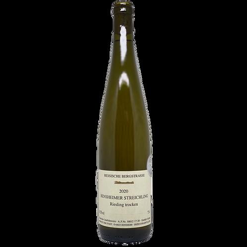 2020 Riesling trocken Weingut der Stadt Bensheim Bergsträßer Wein