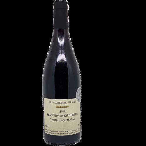 2018 Spätburgunder Weingut der Stadt Bensheim Bergsträßer Wein
