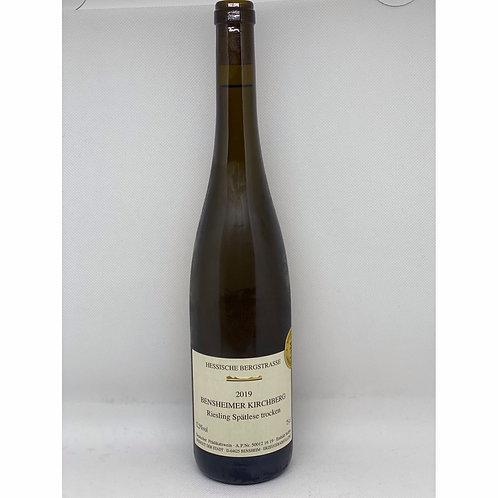 2019 Riesling Spätlese Weingut der Stadt Bensheim Bergsträßer Wein