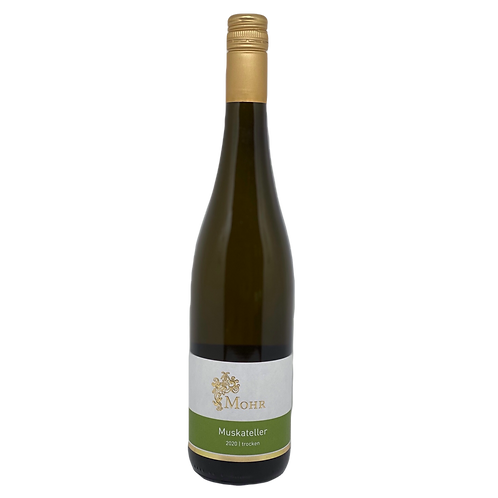 Hessische Bergstraße 2020 Muskateller trocken Weingut Mohr Bergsträßer Wein