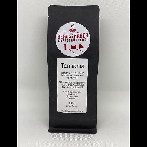 Tansania Bergsträßer Kaffeerösterei 250g