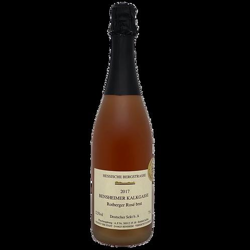 2017 Rotberger Rosé Brut Weingut Stadt Bensheim Bergsträßer Sekt