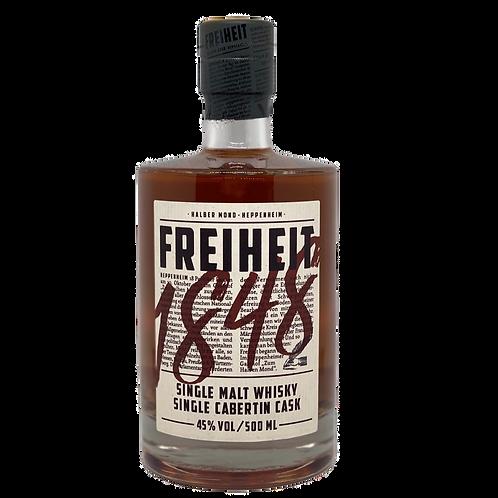 Whisky Freiheit 1848 Single Malt Cabertin Cask Heppenheim Bergsträßer Whisky