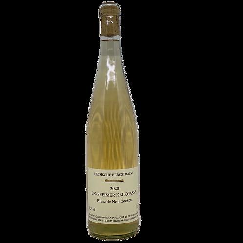2020 Blanc de Noir Bensheimer Kalkgasse Weingut Stadt Bensheim Bergsträßer Wein