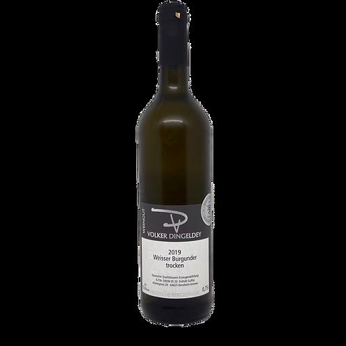 Hessische Bergstraße 2019 Weißburgunder Volker Dingeldey Bergsträßer Wein