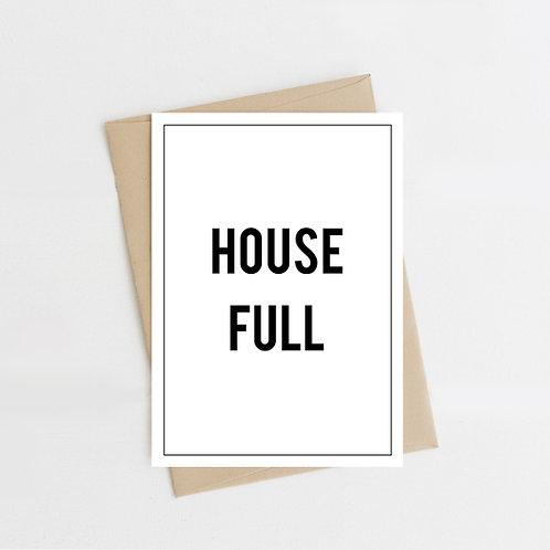 House Full, Greeting Card