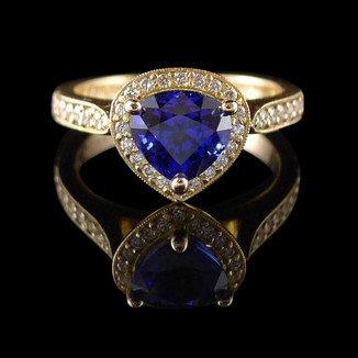 Bespoke engagement ring melbourne