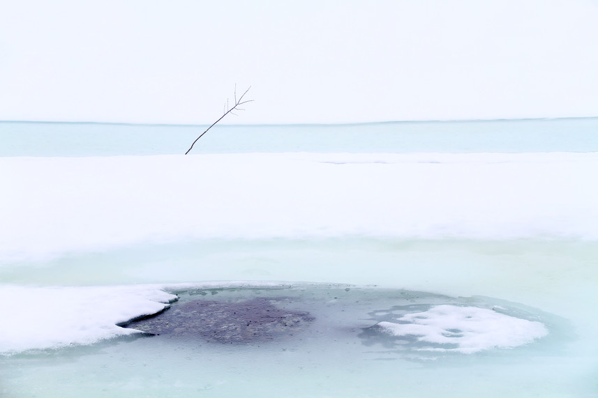 Kolleksjon-Snowmelting in blue-Bente R Dybesland (1)