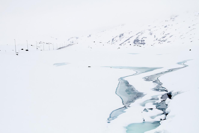 Kolleksjon-Snowmelting in blue-Bente R Dybesland (2)