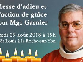 Messe pour Mgr François Garnier
