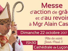 A l'occasion de la démission de Mgr Castet