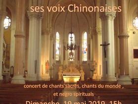 concert do dièse 19 mai église St Pierre de Talmont