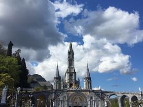 Prières à Lourdes