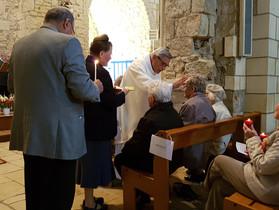 Onction des malades - Eglise de Jard le 21 mai 2017