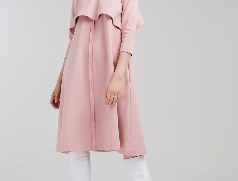 Платье свободное из джерси